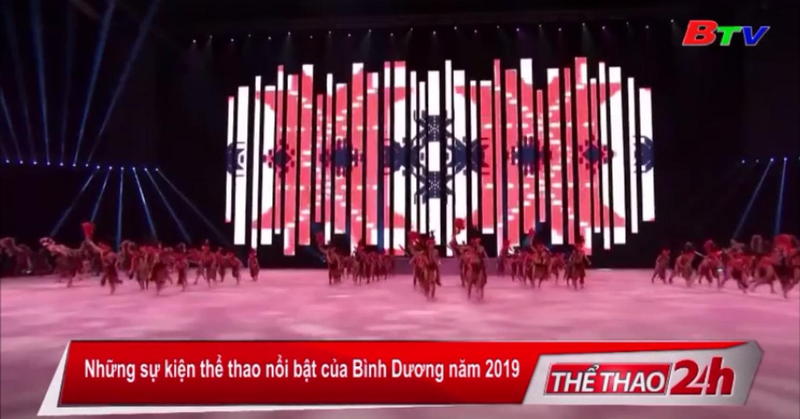 Những sự kiện thể thao nổi bật của Bình Dương 2019