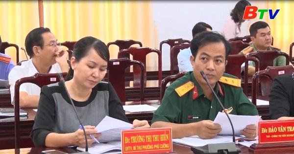 Thành ủy Thủ Dầu Một triển khai công tác tuyên giáo năm 2021