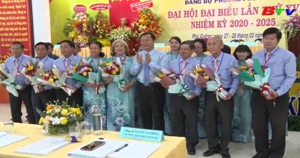 Bế mạc Đại hội Đại biểu Đảng bộ Phường Phú Cường lần thứ XVII, nhiệm kỳ 2020 - 2025