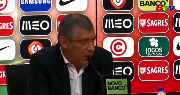 HLV Santos triệu tập tuyển Bồ Đào Nha dự Confed Cup 2017