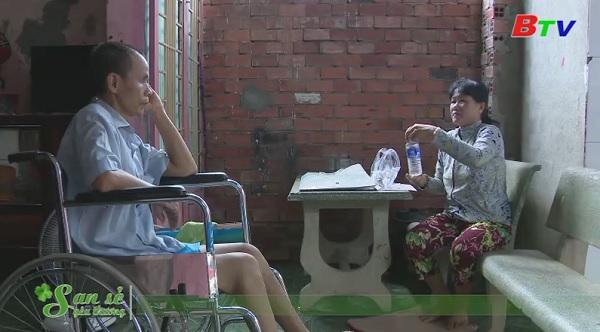 San Sẻ Yêu Thương - Hoàn cảnh ông Nguyễn Văn Đất (362/9 đường Nguyễn Chí Thanh, phường Hiệp An, TP.TDM)