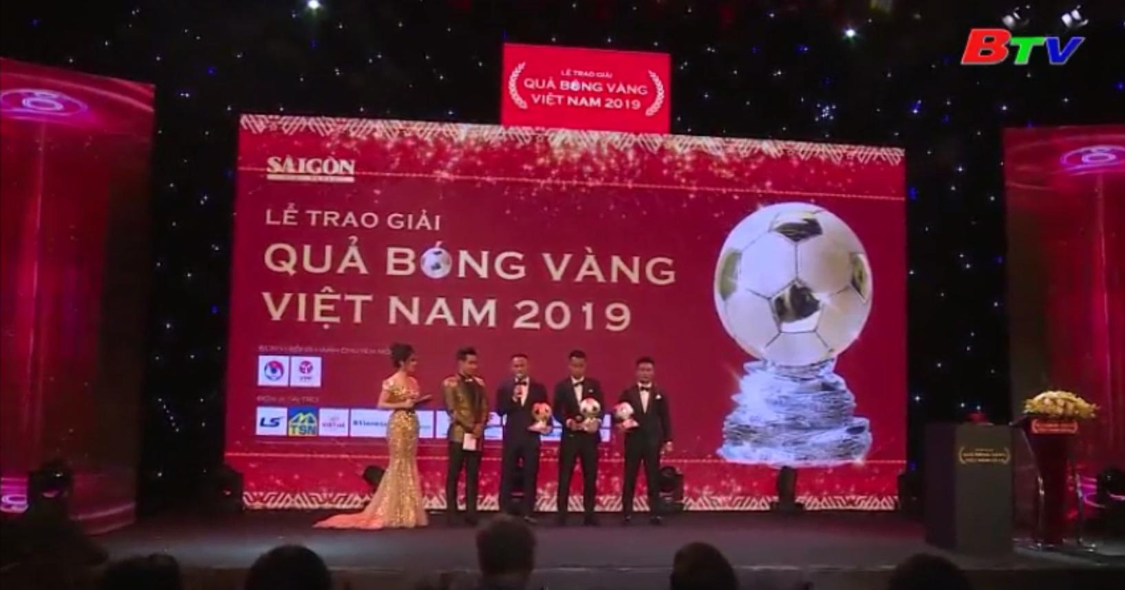Lễ trao giải QBV Việt Nam 2019 - Vinh danh tài năng bóng đá Việt