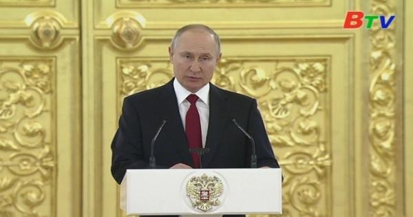 Tổng thống Nga Putin vận động người dân tiêm vaccine
