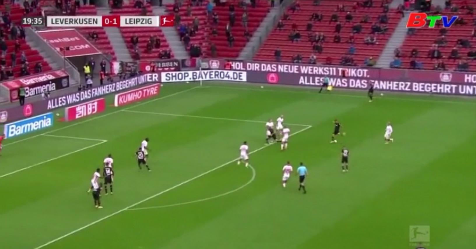 Vòng 2 Bundesliga – Leverkusen 1-1 Leipzig