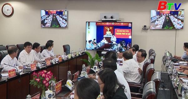 UBND tỉnh Bình Dương họp phiên thường kỳ tháng 10/2020