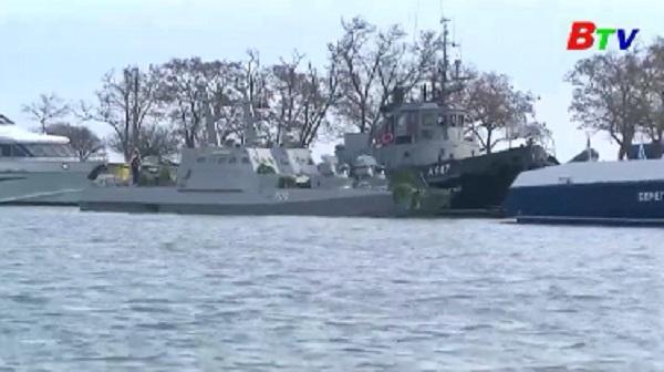 Các tàu Ukraine bị Nga bắt giữ chở nhiều vũ khí, đạn dược