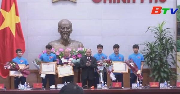 Thủ tướng Chính phủ gặp mặt, chúc mừng đội U.23 Việt Nam