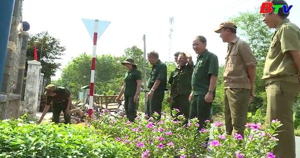 Những cựu chiến binh đi đầu trong xây dựng nông thôn mới