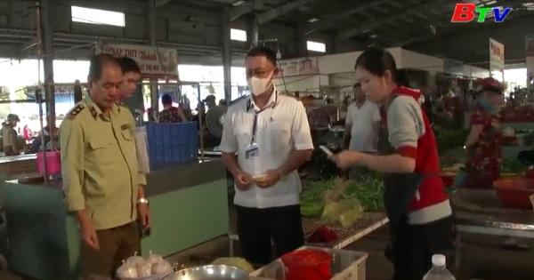 Huyện Bắc Tân Uyên kiểm tra an toàn thực phẩm tại các chợ