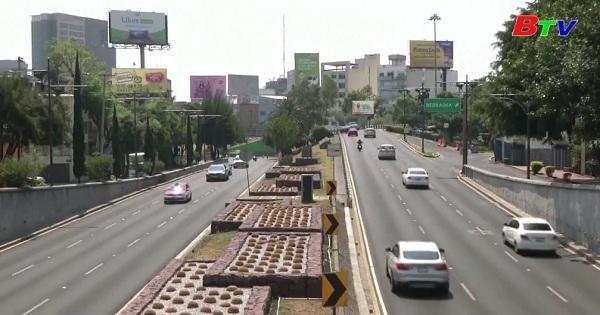 Mức độ ô nhiễm ở thành phố Mexico