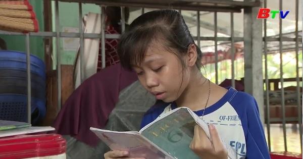 Thắp sáng ước mơ xanh - Em Trần Thị Thanh Ngân, lớp 6A1, trường THCS Nguyễn Trung, xã Thới Bình, huyện Thới Bình, Cà Mau
