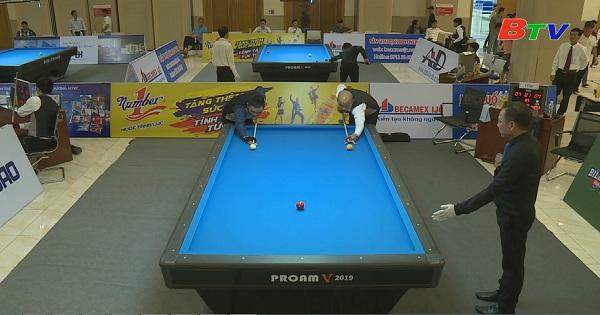 Billiards Carom 3 băng Bình Dương 2019 || Đức Minh (Đồng Nai) vs Trung Hậu (Tp.HCM)