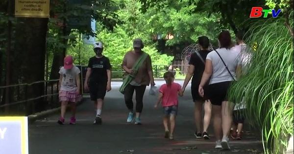 Mỹ - Vườn thú quốc gia ở Washington D.C mở cửa lại