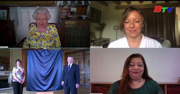 Anh - Giới thiệu bức chân dung mới của nữ hoàng  Alizabeth