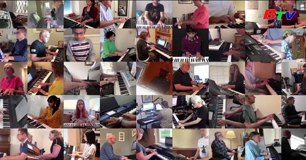 Buổi diễn dương cầm ảo lớn nhất thế giới
