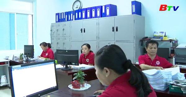 Hội chữ thập đỏ thị xã Tân Uyên đẩy mạnh hoạt động nhân đạo