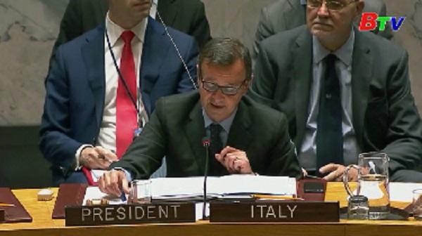 Pháp đề nghị HĐBA LHQ họp khẩn về tình hình Libya