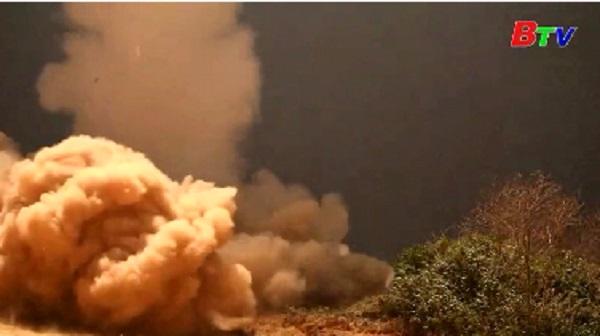 Hàn Quốc tập trận đáp trả vụ Triều Tiên phóng tên lửa