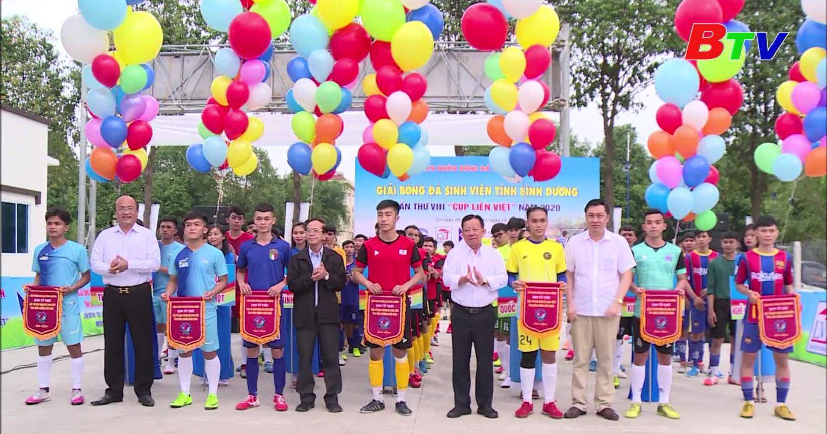 Giải bóng đá sinh viên tỉnh Bình Dương năm 2020 – Hứa hẹn chất lượng chuyên môn cao