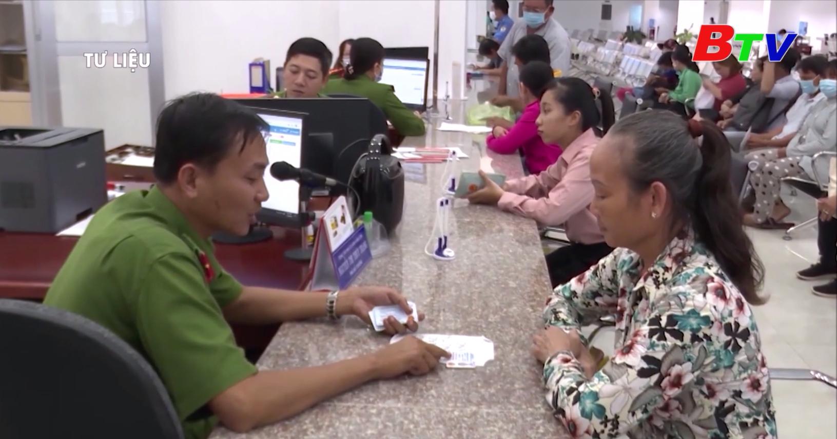 Đầu năm 2021 phát hành thẻ căn cước công dân mẫu mới