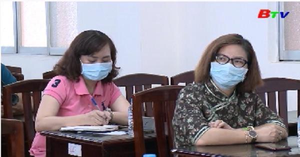 Sở Y tế Bình Dương tiếp nhận vật tư y tế phòng chống dịch COVID-19
