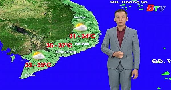 Bản tin Thời tiết (Ngày 29/3/2020)