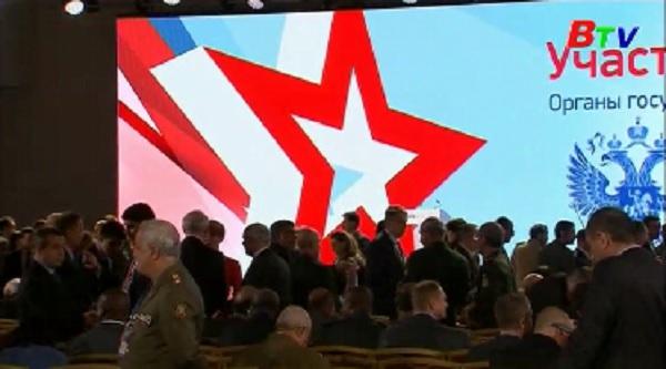 Khai mạc hội nghị an ninh quốc tế tại Moskva