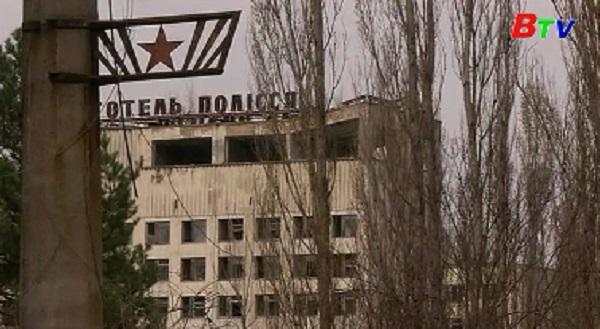 Ukraine tưởng niệm các nạn nhân thảm họa Chernobyl