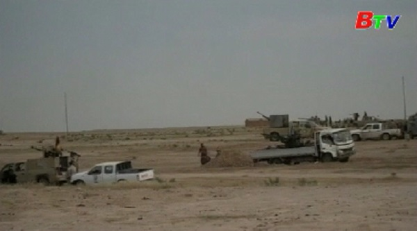 Các lực lượng Iraq giải phóng thành cổ Hatra