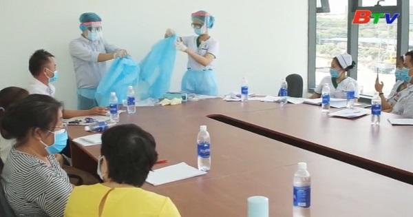 Tân Uyên tập huấn  phòng chống dịch Covid-19