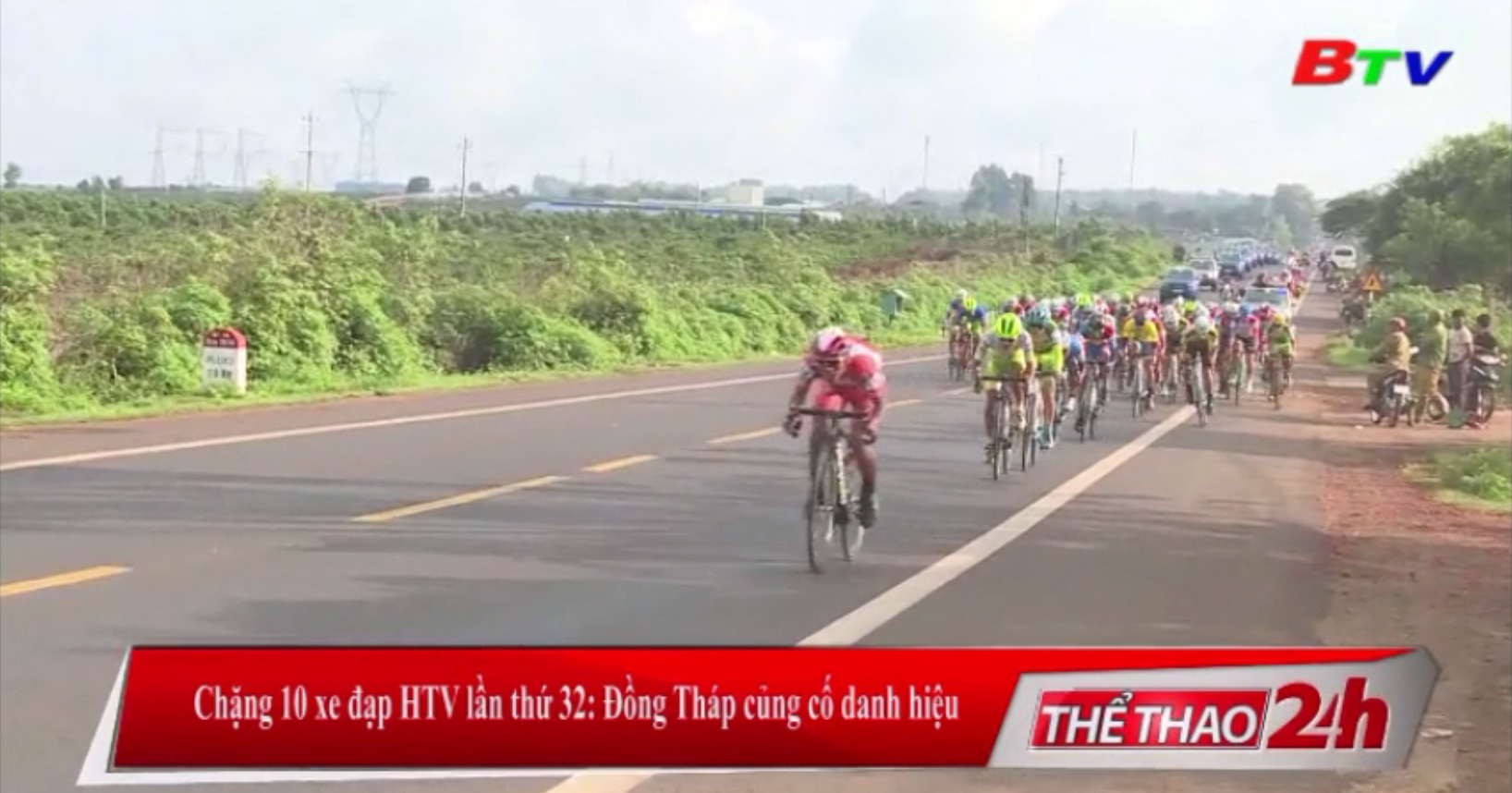 Chặng 10 xe đạp HTV lần thứ 32 - Đồng Tháp củng cố danh hiệu