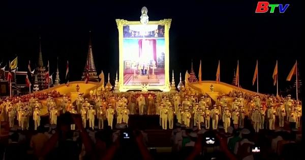 Thái Lan mừng sinh nhật thứ 68 của nhà Vua