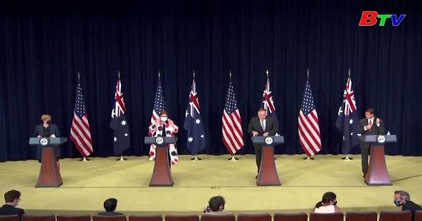Mỹ và Australia tuyên bố chủ quyền tại biển đông phải được giải quyết theo luật pháp quốc tế