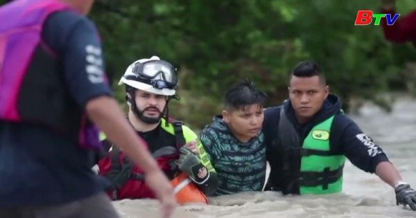 Bão Hanna gây thiệt hại nghiêm trọng tại Mexico