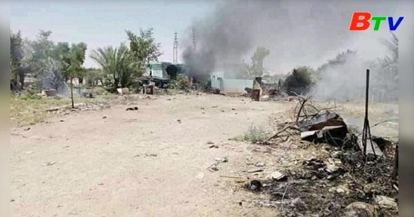 Tấn công rocket vào Đại sứ quán Mỹ tại Iraq