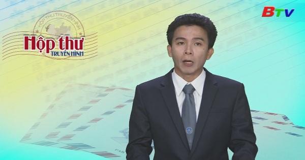 Hộp thư Truyền hình (Chương trình ngày 28/8/2017)