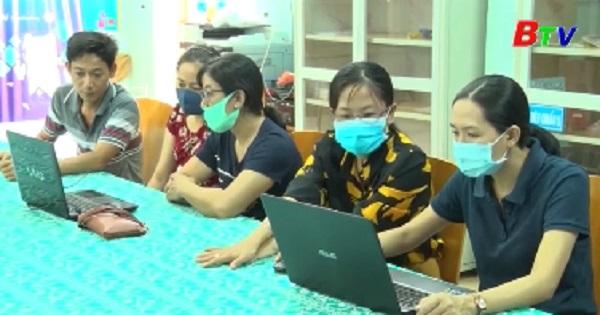 Thành phố Thủ Dầu Một chủ động dạy và học trực tuyến