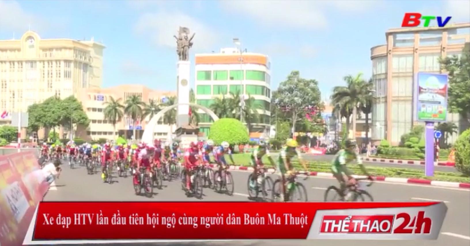 Xe đạp HTV lần đầu tiên hội ngộ cùng người dân Buôn Ma Thuột