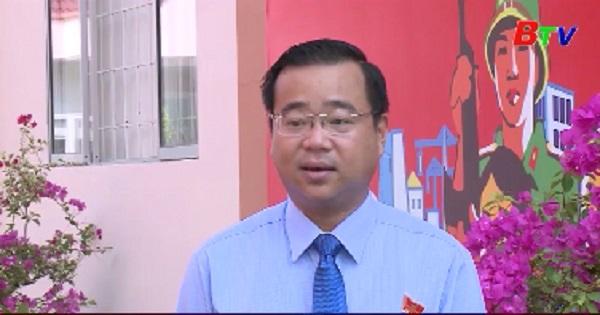 Đảng bộ thành phố Thủ Dầu Một hoàn thành báo các chính trị