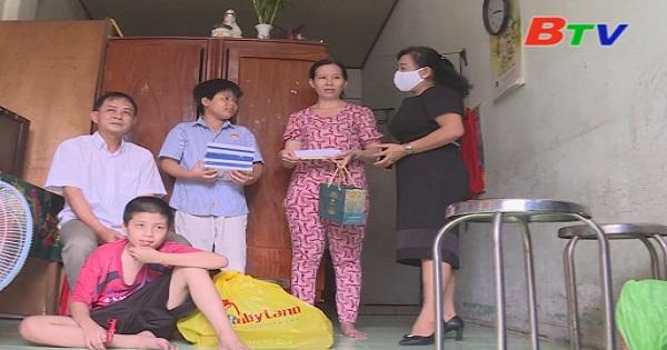 San Sẻ Yêu Thương - Hoàn cảnh gia đình anh Nguyện, chị Tuyết (số 104, khu phố 6, phường Phú Thọ, thành phố Thủ Dầu Một, Bình Dương)