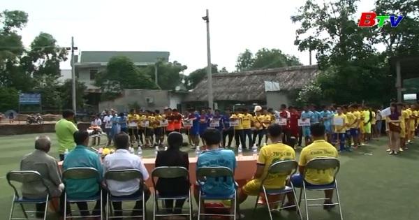 Khởi tranh Giải bóng đá Mini hội đồng hương Thanh Hóa  lần V/2017