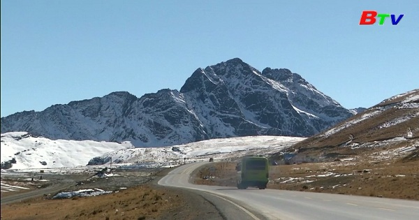 Người dân Bolivia hào hứng tận hưởng đợt tuyết rơi bất thường