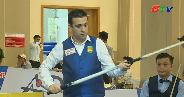 Billiards Carom 3 băng Bình Dương 2019 || Zapata Garcia (TBN) vs Hồ Quảng Tín (VN)