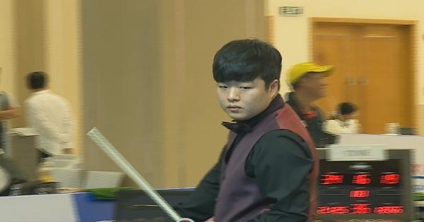 Billiards Carom 3 băng Bình Dương 2019 ||  Cho Myung Woo (Hàn Quốc) vs Anh Huy (Việt Nam)