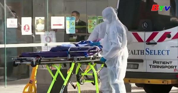 Australia-Các ca nhiễm mới và tử  vong cao nhất trong ngày