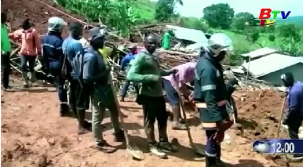 Cameroon đẩy mạnh công tác tìm kiếm nạn nhân lở đất
